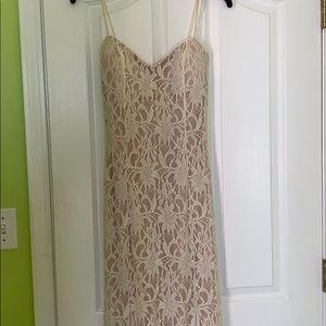 Lace prom/wedding dress
